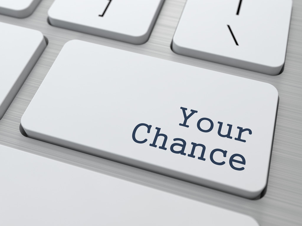 Your Chance - Button on Keyboard.