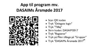App til årsmødet
