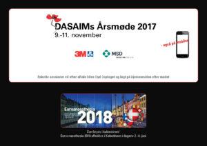 Dine forberedelser som deltager i DASAIMs Årsmøde 2017!