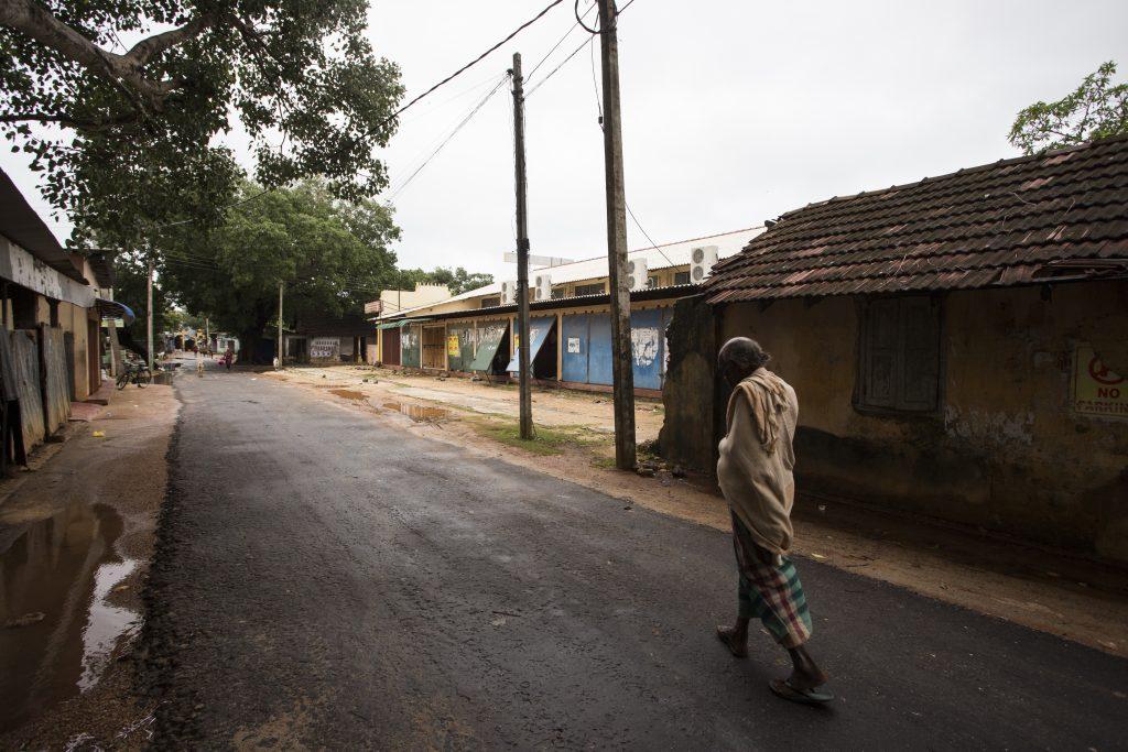 Streets in Thondaimanaru Sri Lanka